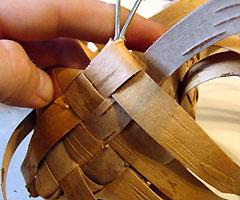 Изделия из бересты – берестяной короб и шкатулка