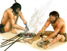разведение огня древними людьми