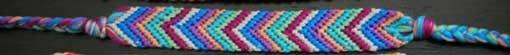 плетение фенечки стрелочкой