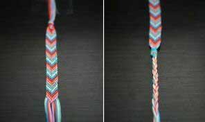 Классная фенечка стрелочкой - урок плетения