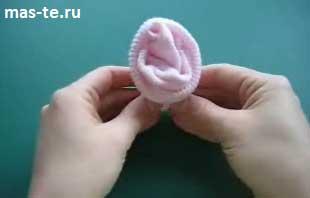 Оригинальный подарок новорожденному - носочный букет