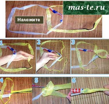 От мастеров рукоделия - как сделать воздушного змея