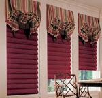 как сделать римские шторы