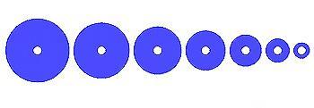 шаблон кругов