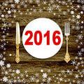 новогодний стол 2016