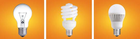 эволюция электрических лампочек