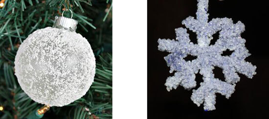 снежные кристаллы соли