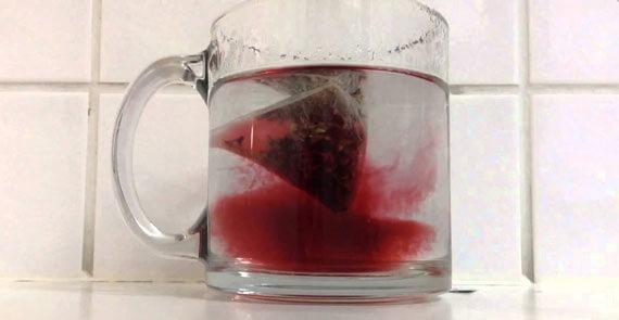 краситель в пакетированном чае